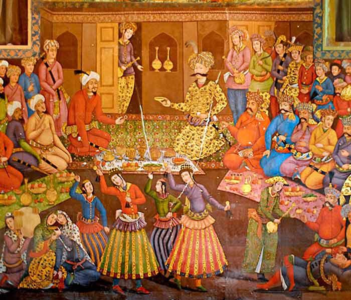 Chehel Sotoun Palace - shah abbas