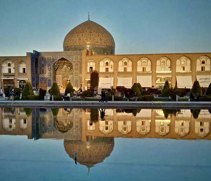 Iran Tour Package from India - Sheikh Lotfallah mosque