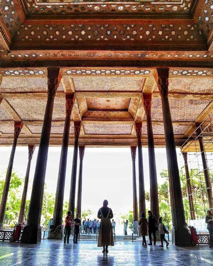 Chehel Sotoun Palace - 40 pillars Palace