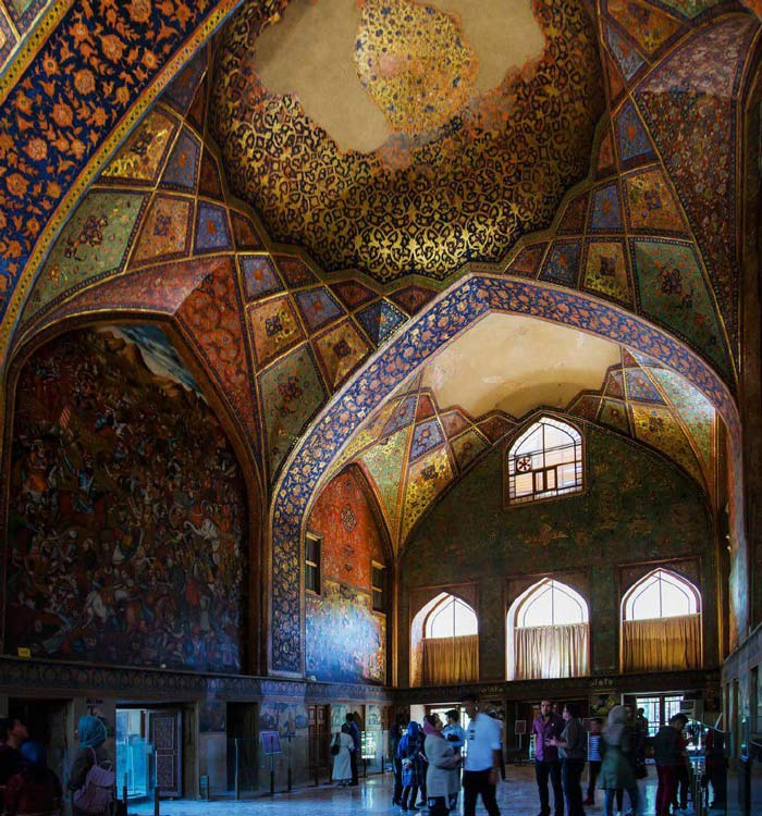 Chehel Sotoun Palace - Chehel Sotoun Architecture