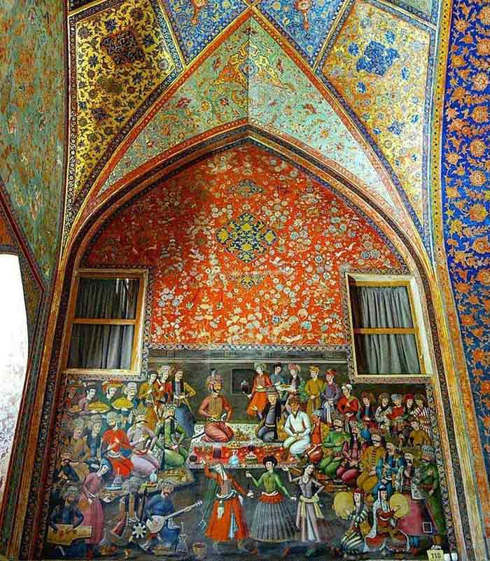 Chehel Sotoun Palace - Chehel Sotoun Paintings