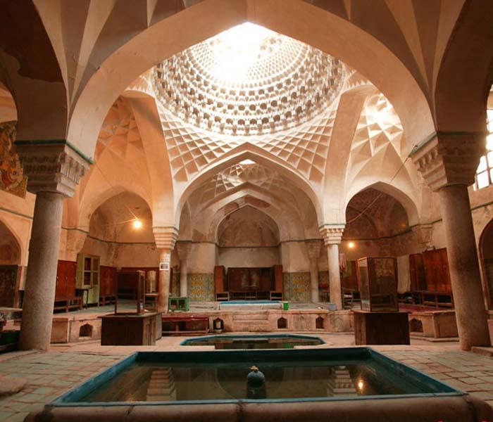 Ganjali Khan Bath Kerman - Hammam-e Ganj Ali Khan - Teshtar.com