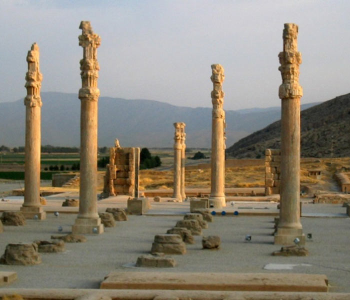 Persepolis Iran - Capital of Persia in Greek - Takht-e Jamshid - The Throne of Jamshid