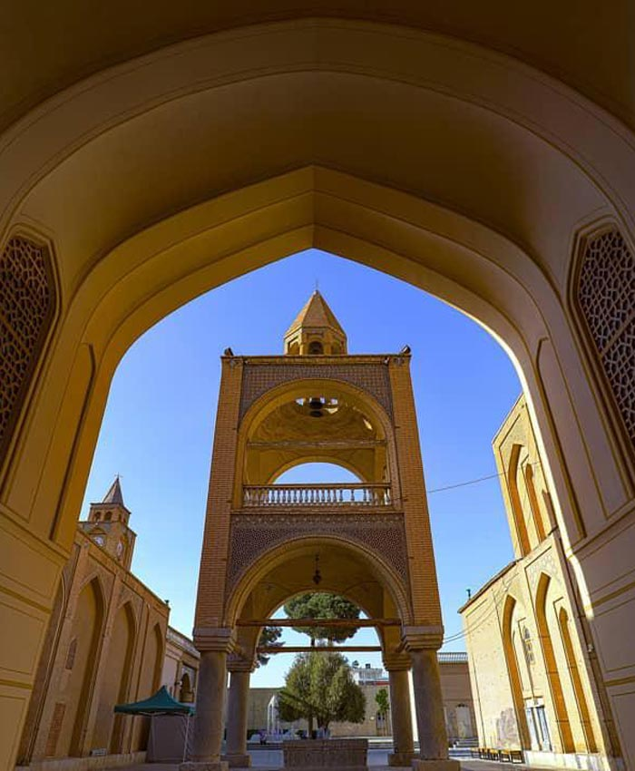 Vank Cathedral Isfahan - Vank Cathedral Architecture