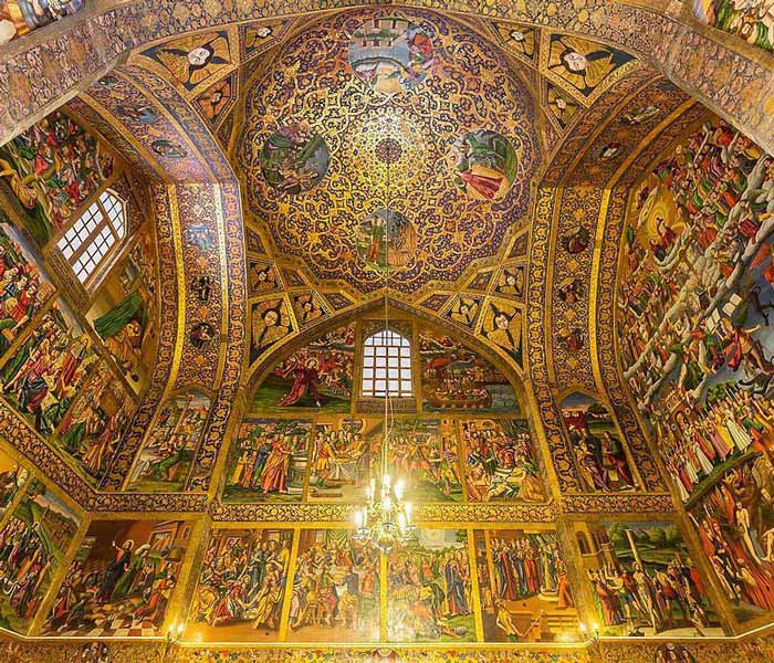 Vank Cathedral Isfahan - Vank Cathedral Paintings