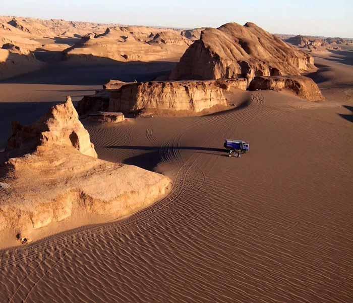 iran desert desert in iran - kalouts of Shahdad