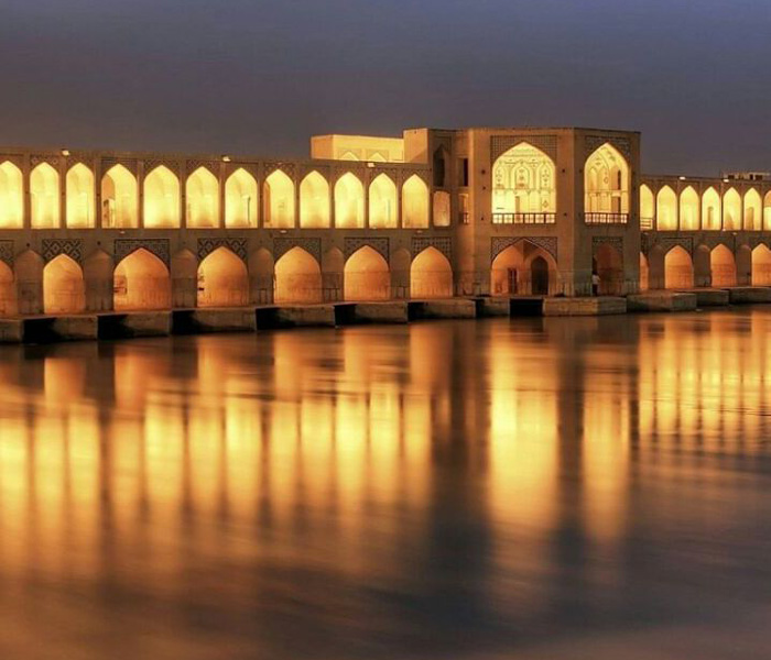 Isfahan Tourism - Isfahan City - Si o se Bridge