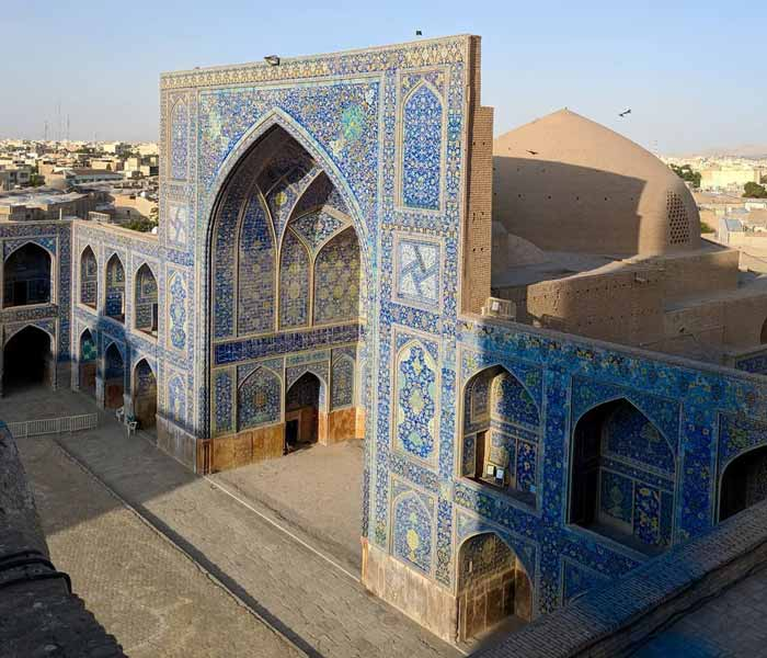 Jameh Mosque of Isfahan - the Grand Congregational Mosque - Atigh Mosque