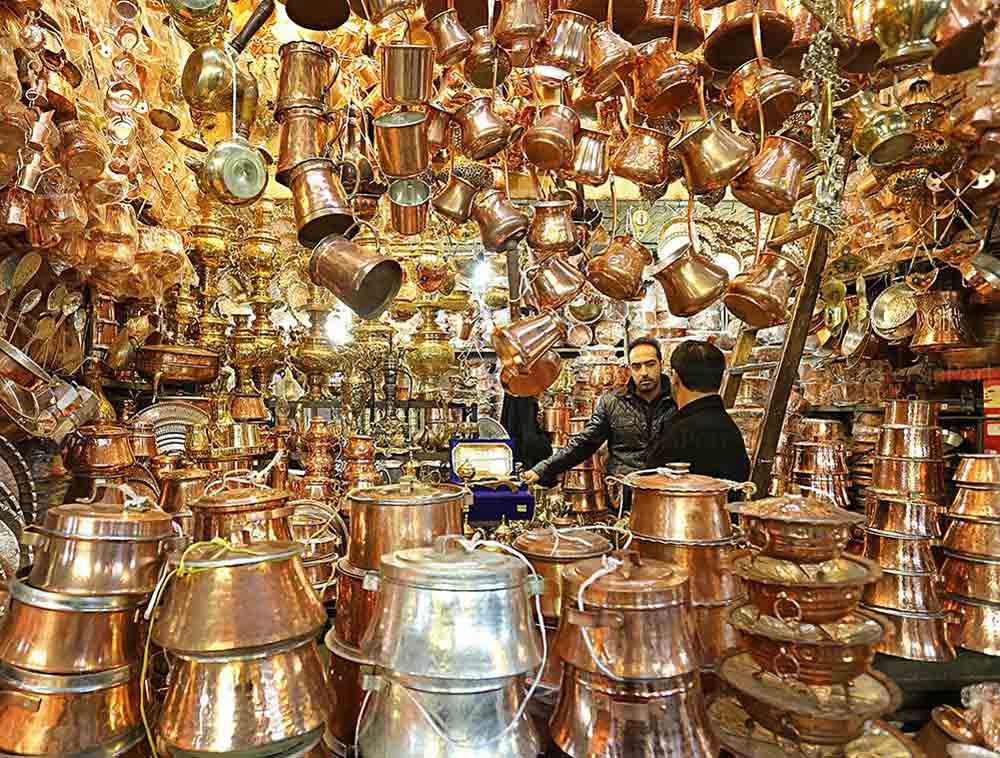 Isfahan Handicrafts - Copperware