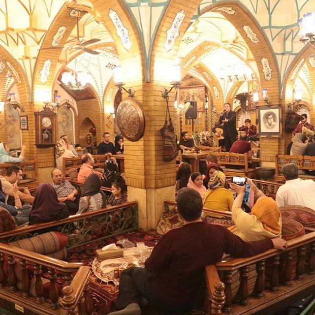 Bagh-e Saba Restaurant - Best Iranian Traditional Restaurants in Tehran