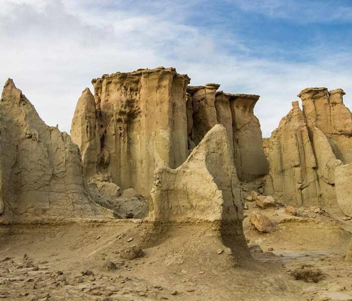 Qeshm Island - Qeshm island geopark - Qeshm Chahkooh Canyon - Qeshm Stars Valley