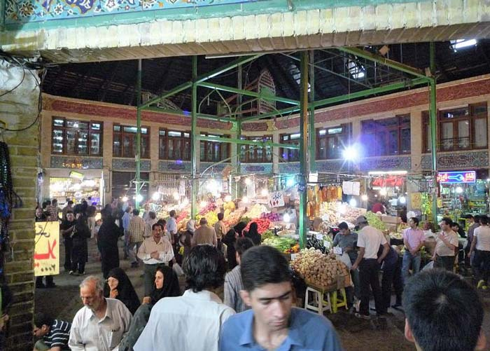 tajrish bazaar - tajrish bazaar teahouse - tajrish bazaar & emamzadeh saleh - tajrish mosque - tajrish bazaar tehran