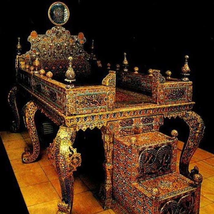 National Jewelry Museum of Iran - Peacock Throne