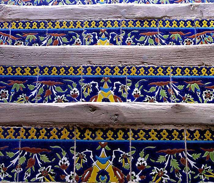 ali qapu palace - tilework