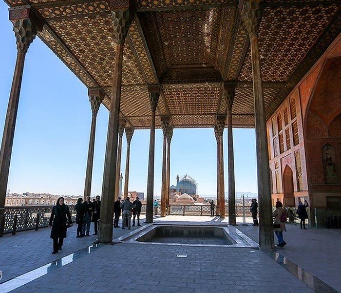 ali qapu palace - Portico