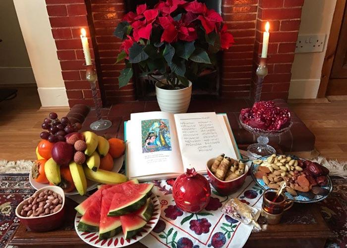 Iran Festivals - Yalda Table