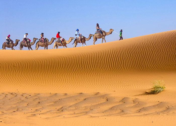 Dangerous Places in Iran - Mesr Desert