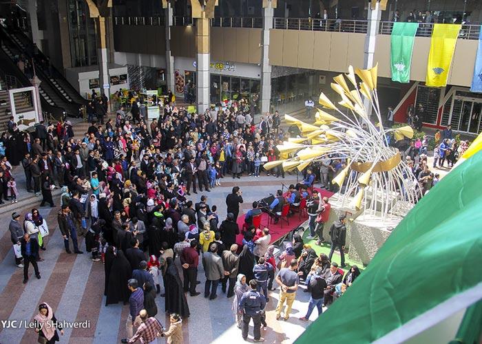 Nowruz in Tehran - Nowruz Festival in Milad Tower
