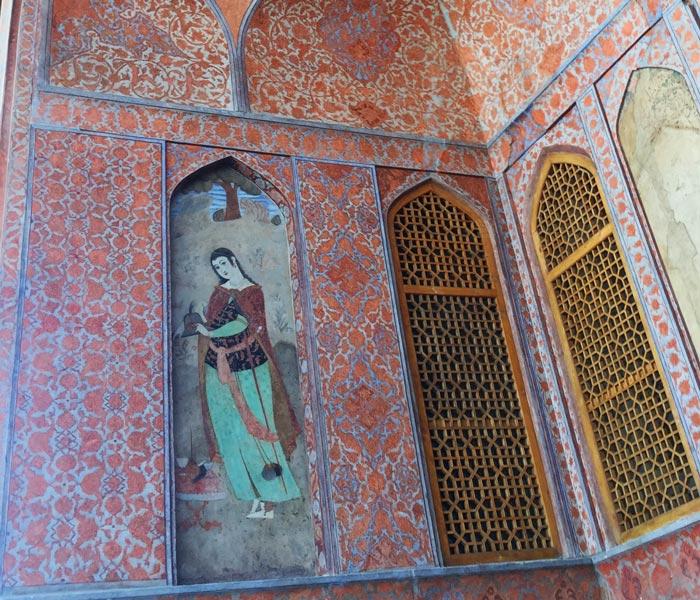 ali qapu palace fresco