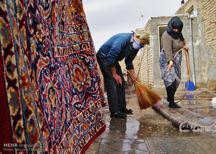 Nowruz Rituals - Spring House Cleaning