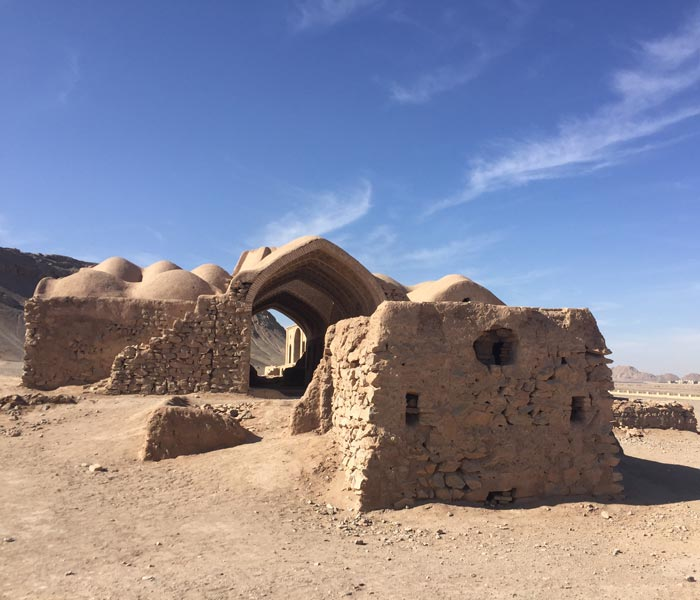 Zoroastrian Towers of Silence - Accommodation and ceremory chambers