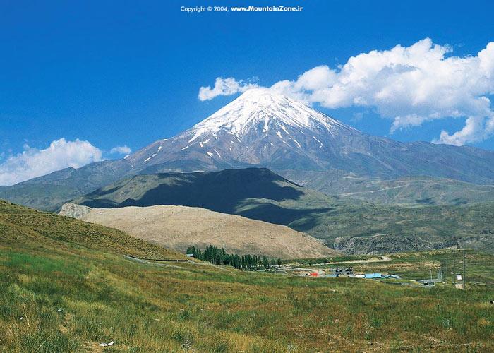 Dangerous Places in Iran - Mount Damavand