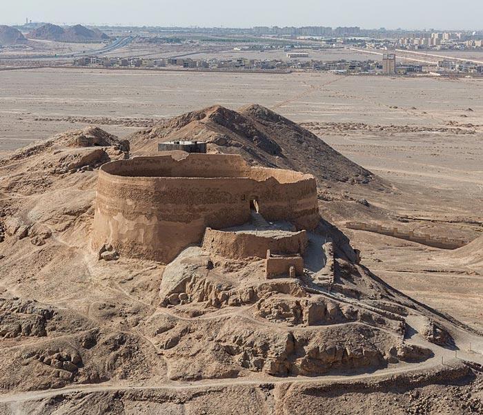 Zoroastrian Towers of Silence - yazd