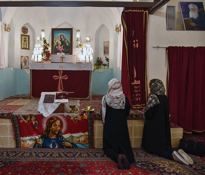 Christmas in Iran - Saints Thaddeus and Bartholomew Church