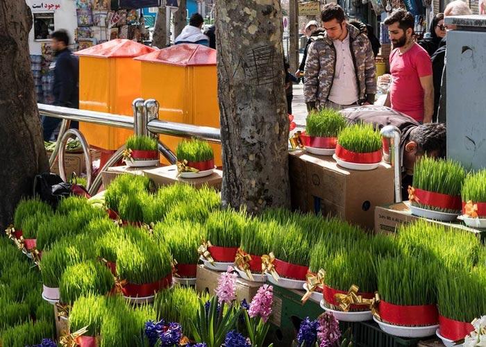 Nowruz in Tehran - Tajrish Square
