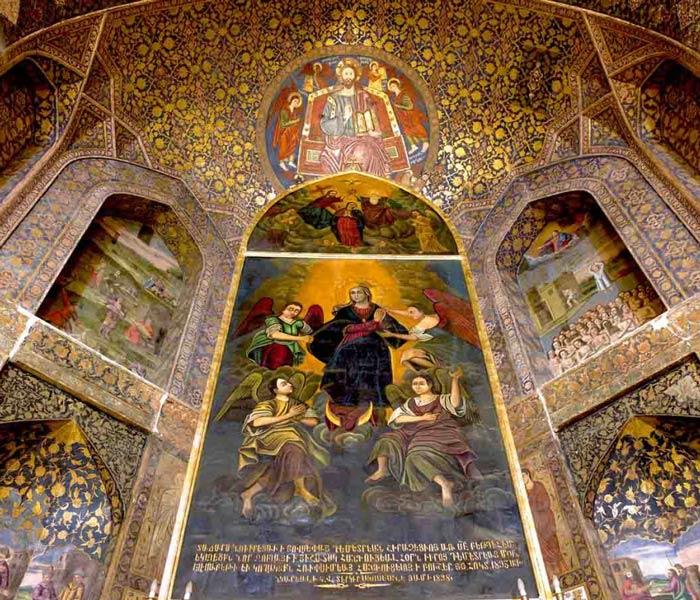 Saint Mary Church in Tabriz