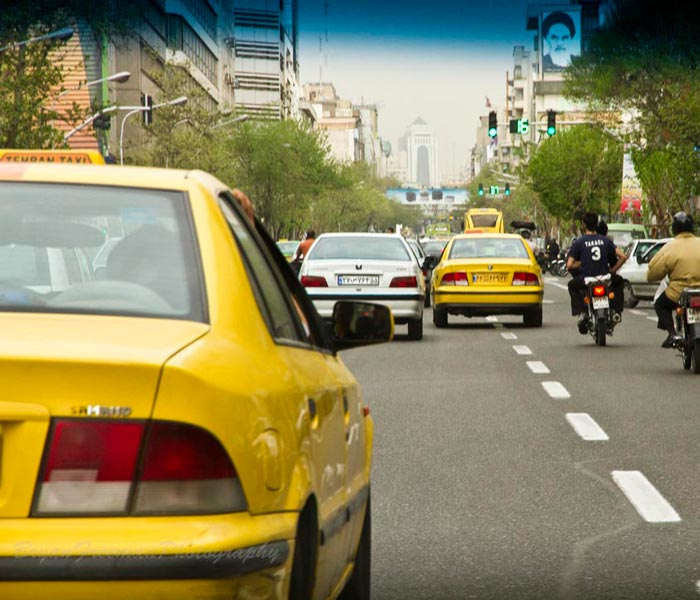 Is Iran Expensive to Travel - taxi
