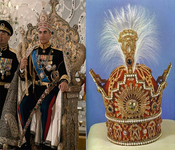 National Jewelry Museum of Iran - Crown of Pahlavi