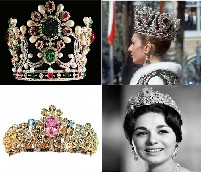 National Jewelry Treasury - Former Queen Farah