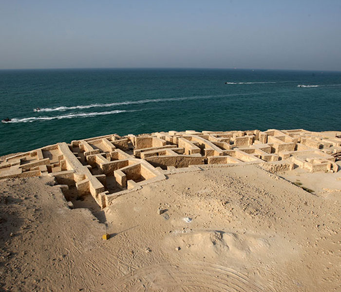 kish island - kish attractions - ancient city of Harireh