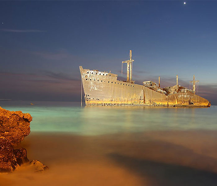 kish island - kish attractions - Greek Ship