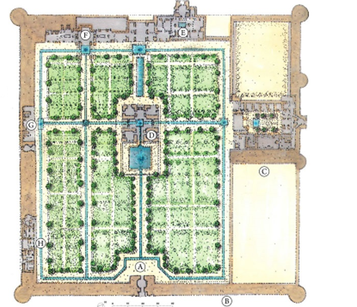 Persian Garden Layout