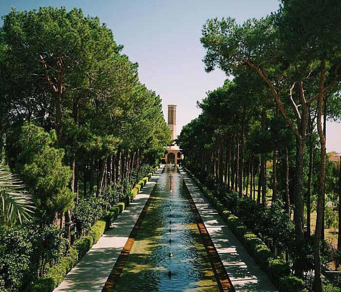 Persian Garden - Dowlatabad Garden of Yazd